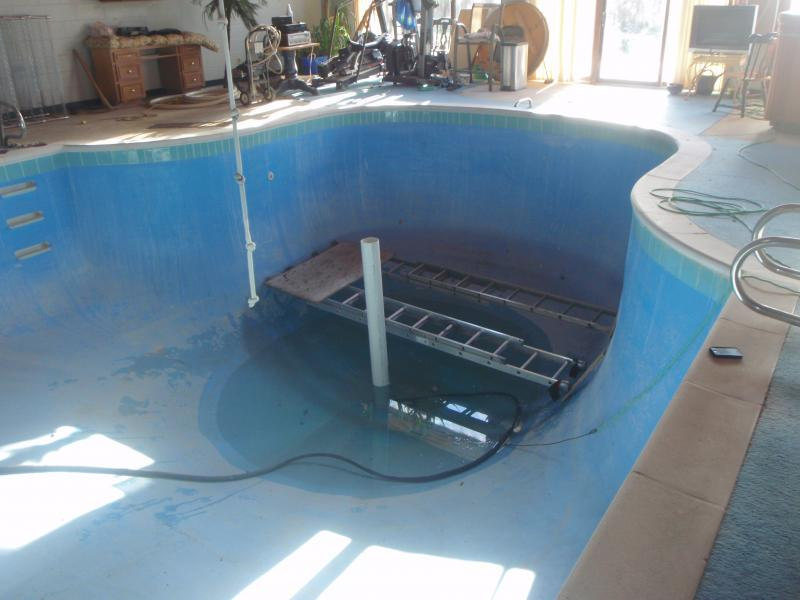 Windsor Leak Detection Concrete Pool Reconstruction Refurbishing